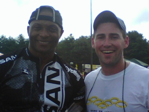 Eddie George and Dave = Mission Accomplished